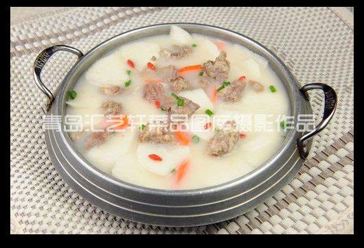 青岛菜品图片摄影作品山药炖羊排